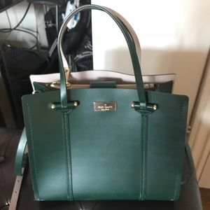 Kate Spade ♠️ Green Shoulder Bag